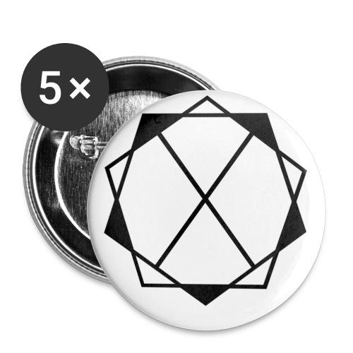 DesignerNetwork - Buttons klein 25 mm