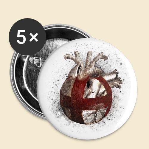 Radball | Cycle Ball Heart - Buttons klein 25 mm