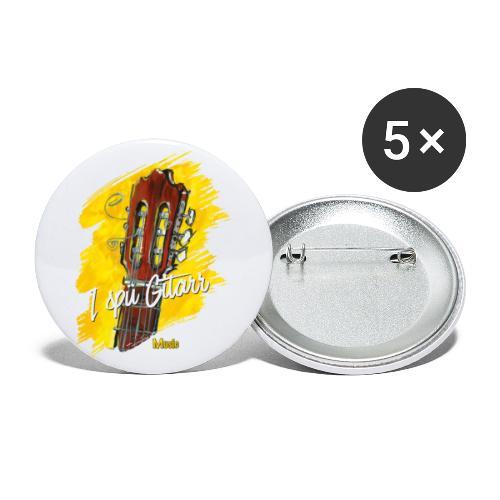 I spü Gitarr - limited edition '19 - Buttons klein 25 mm (5er Pack)