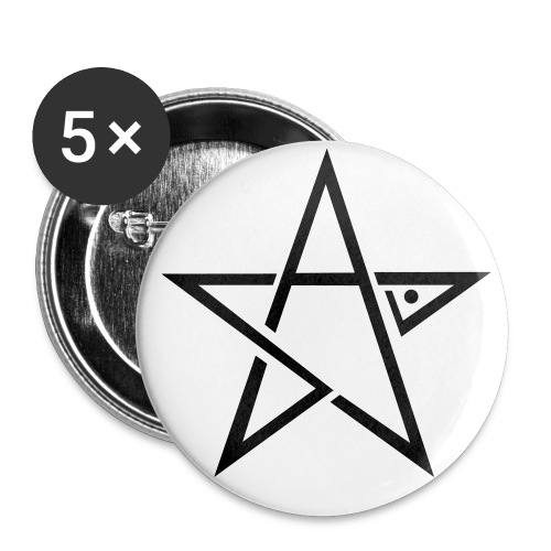 Skill Logo Star - Buttons small 1''/25 mm (5-pack)