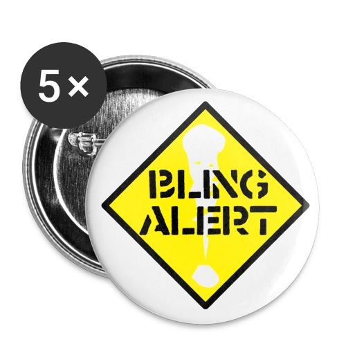 bling alert - Buttons small 1''/25 mm (5-pack)