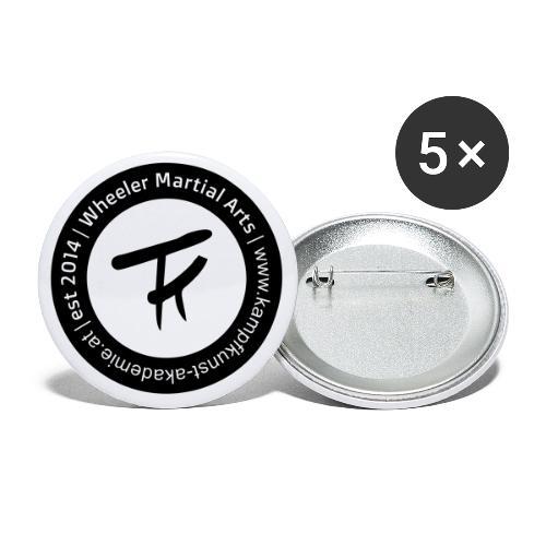 KKA Logo Pin - Buttons klein 25 mm (5er Pack)