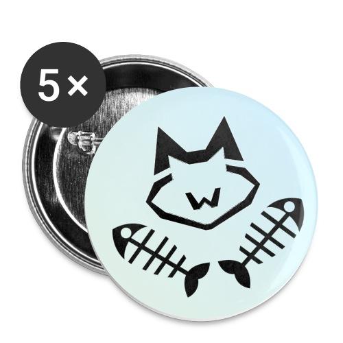 Logo WK - Lot de 5 petits badges (25 mm)