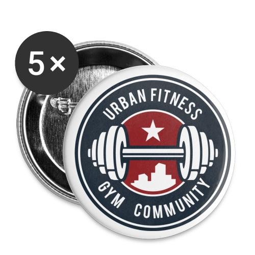 FFC_badge_trans - Lot de 5 petits badges (25 mm)