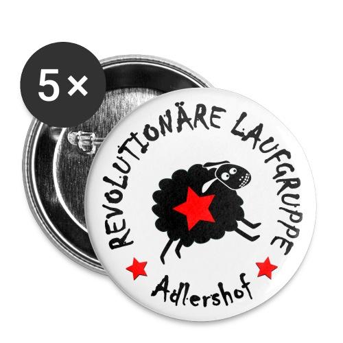 Revolutionäre Laufgruppe - Buttons klein 25 mm (5er Pack)