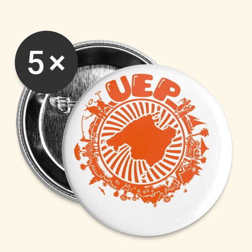 UEP - Buttons small 1''/25 mm (5-pack)