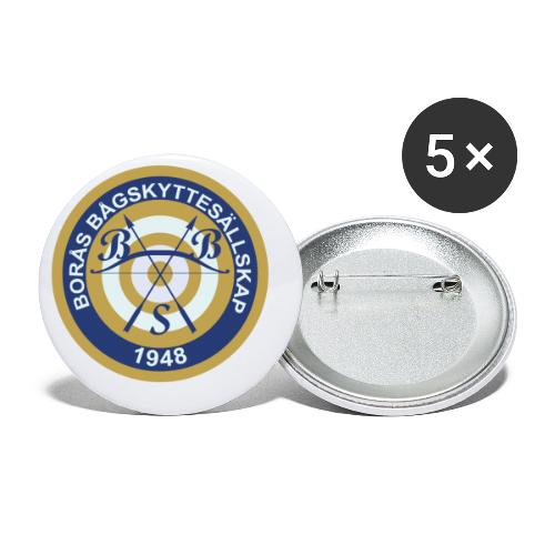 BBS logo - Små knappar 25 mm (5-pack)
