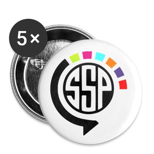 pins ssp - Lot de 5 petits badges (25 mm)