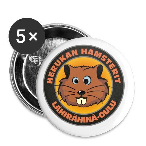 Herukan Hamsterit - Rintamerkit pienet 25 mm (5kpl pakkauksessa)