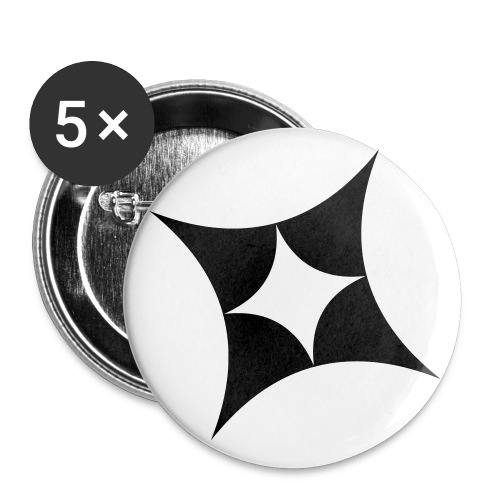 LoS Stern - Buttons klein 25 mm (5er Pack)