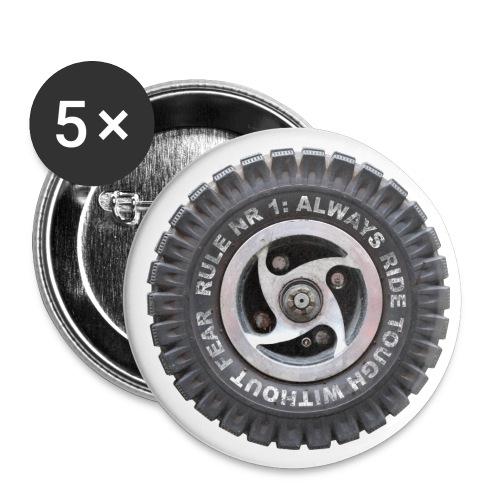 toughwheels - Buttons klein 25 mm (5-pack)