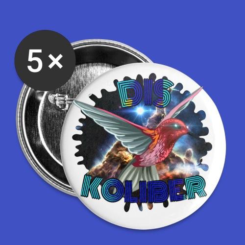 Dis Koliber Logo - Przypinka mała 25 mm (pakiet 5 szt.)