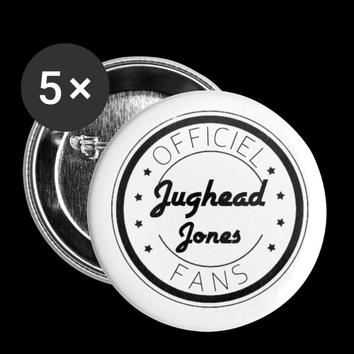 Officiel Jughead Jones Fans - Lot de 5 petits badges (25 mm)