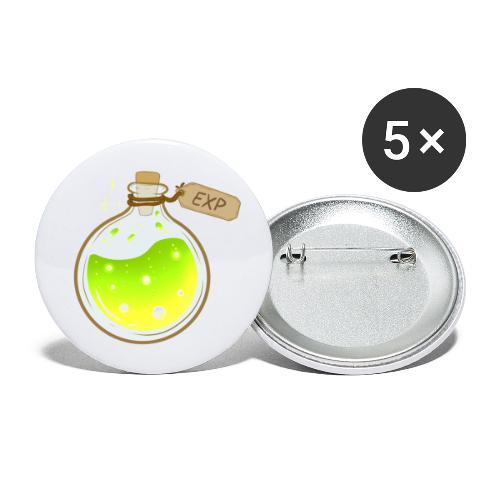 EXP For days - Små knappar 25 mm (5-pack)