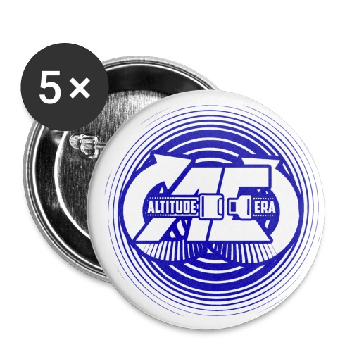 Altitude Era Circle Logo - Buttons small 1''/25 mm (5-pack)