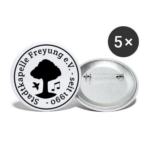 Stadtkapelle Freyung e.V. - Traditionelles Logo - Buttons klein 25 mm (5er Pack)