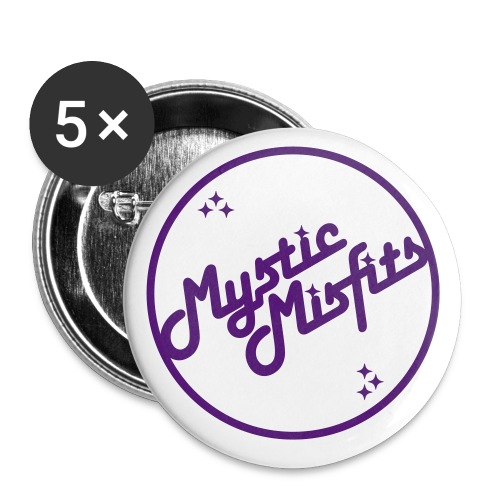 Mystic Misfits - Buttons small 1''/25 mm (5-pack)