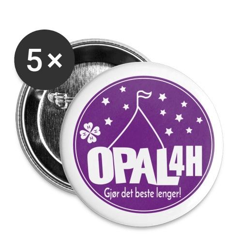 OPAL 4H logo - Liten pin 25 mm (5-er pakke)