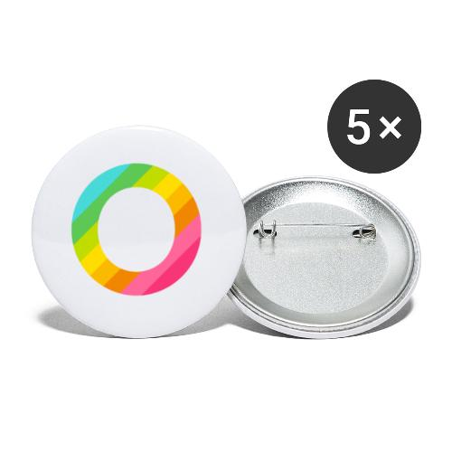 Openbook Accesories - Buttons klein 25 mm (5-pack)