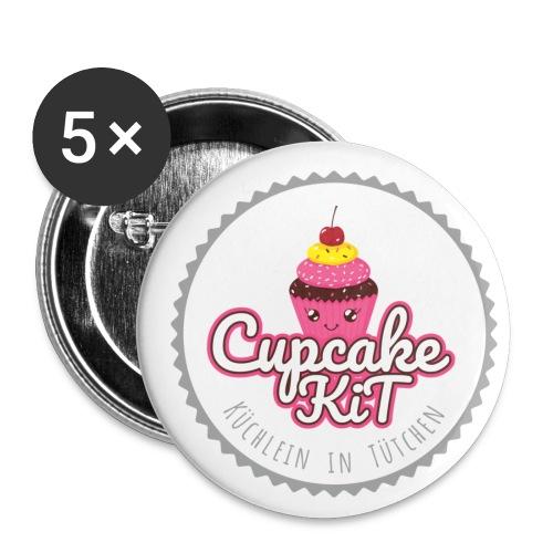 Cupcake KiT - Buttons klein 25 mm (5er Pack)