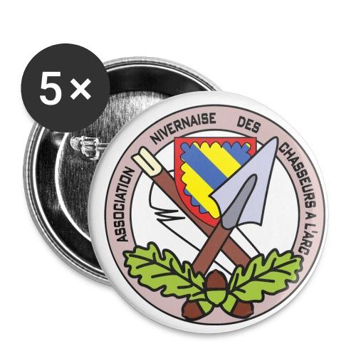 Anca couleur - Lot de 5 petits badges (25 mm)