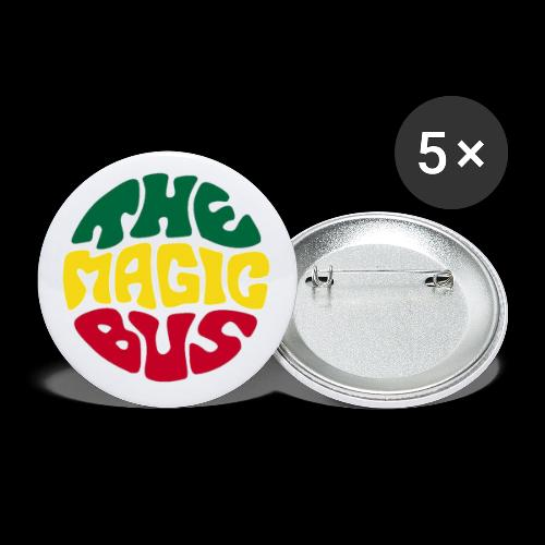 THE MAGIC BUS - Buttons small 1''/25 mm (5-pack)