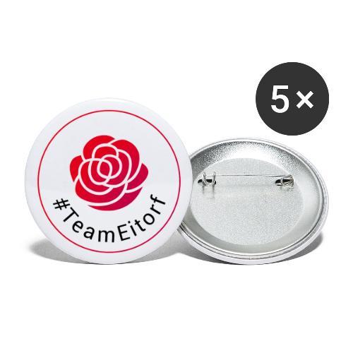 Team Eitorf - Buttons klein 25 mm (5er Pack)