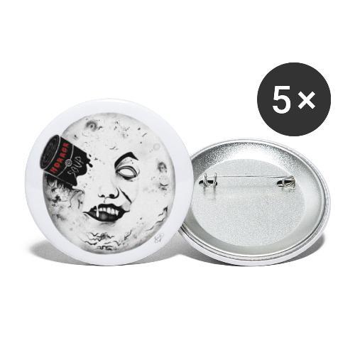 Bad Moon - Confezione da 5 spille piccole (25 mm)