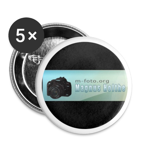 button - Liten pin 25 mm (5-er pakke)