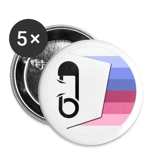 ABDL Erkennungszeichen - Buttons klein 25 mm (5er Pack)