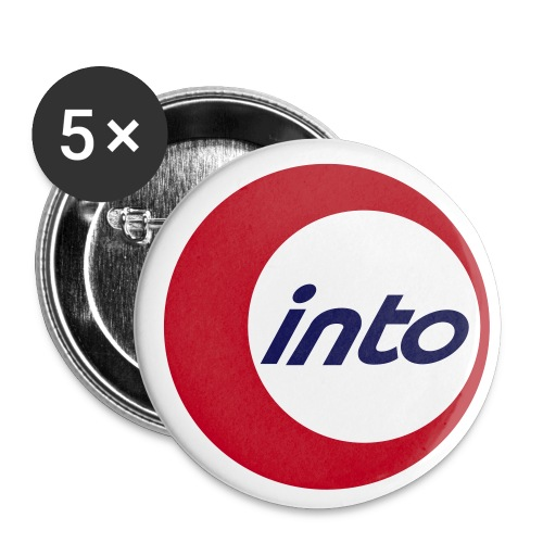 into Student Exchange - Buttons klein 25 mm (5er Pack)