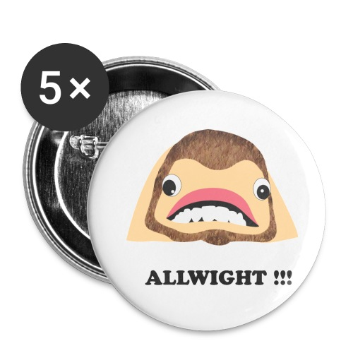 jpeg_chin_allwight - Buttons small 1''/25 mm (5-pack)