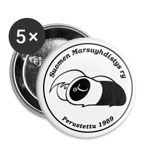 smylogomvpix - Rintamerkit pienet 25 mm (5kpl pakkauksessa)