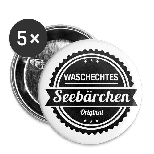 Waschechtes Seebärchen - Buttons klein 25 mm (5er Pack)