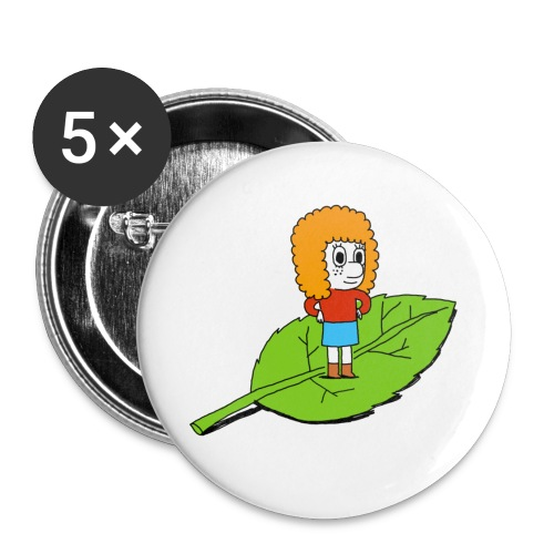 patti - Lot de 5 petits badges (25 mm)