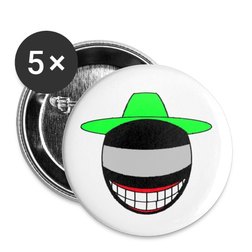 BON TEST Copie png - Lot de 5 petits badges (25 mm)