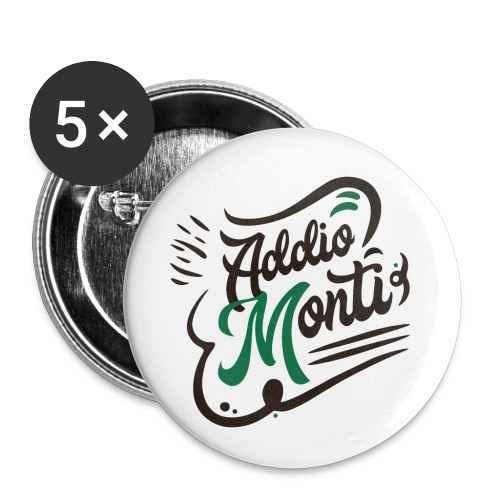 LCFun | Addio Monti - Confezione da 5 spille piccole (25 mm)