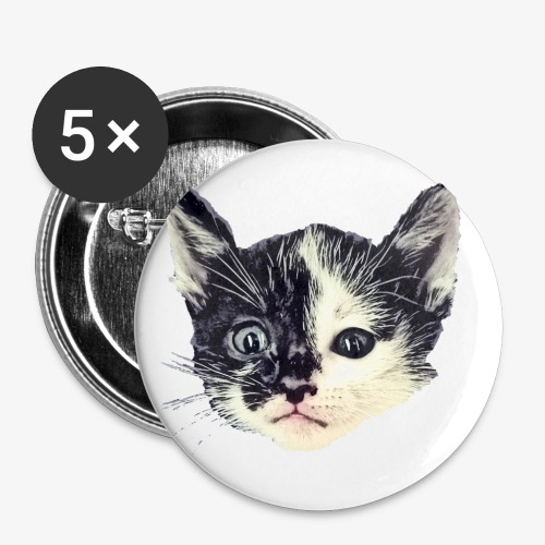 Double sided - Buttons small 1''/25 mm (5-pack)