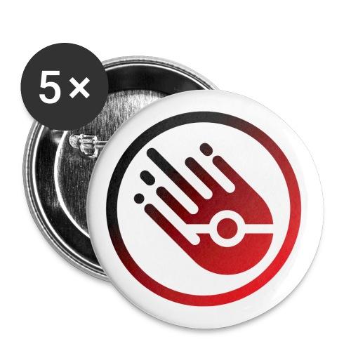 logo Raid italia - Confezione da 5 spille piccole (25 mm)