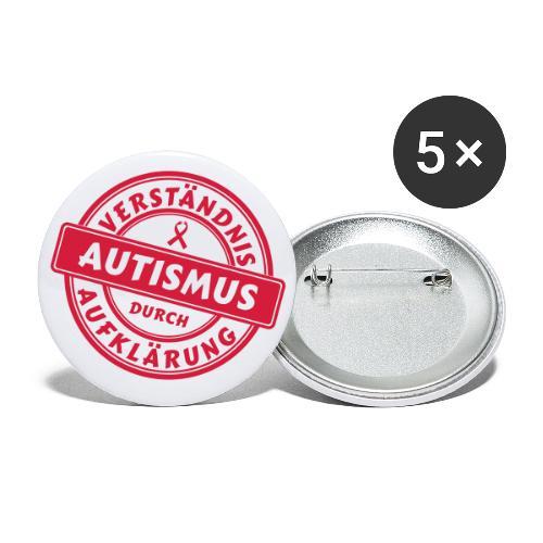 Verständnis durch Aufklärung - Buttons klein 25 mm (5er Pack)