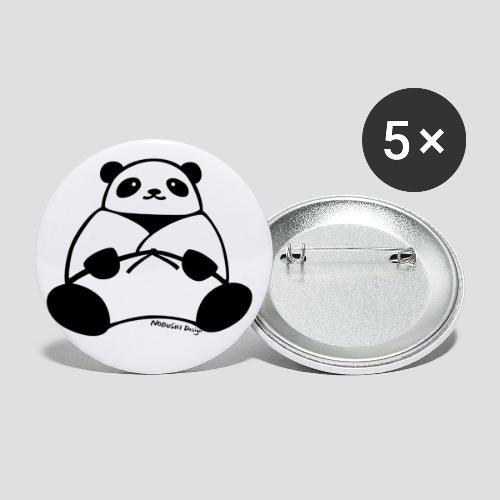 Panda - Buttons klein 25 mm (5-pack)
