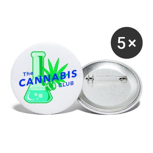 bang - Lot de 5 petits badges (25 mm)