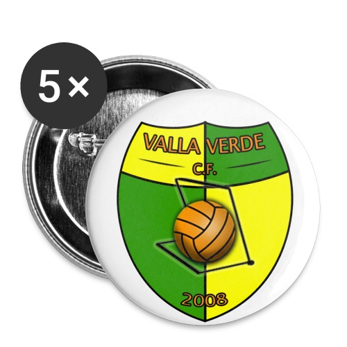 Valla Verde - Buttons klein 25 mm (5er Pack)