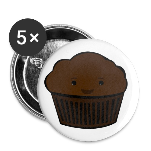 muffin - Buttons small 1''/25 mm (5-pack)