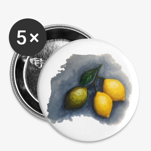 lemons - Buttons small 1''/25 mm (5-pack)