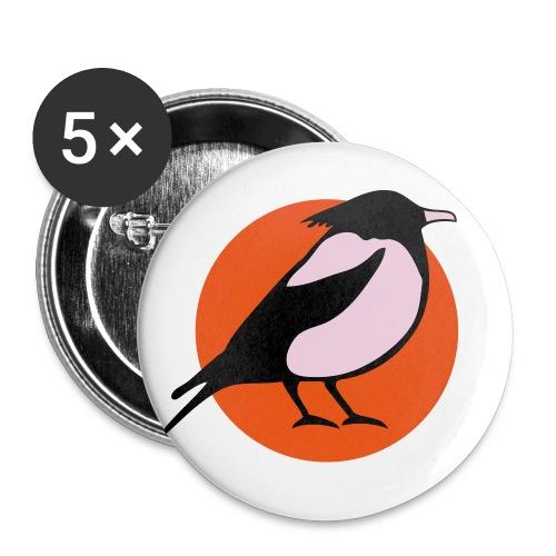 logo v32kleincs2 - Buttons klein 25 mm (5er Pack)