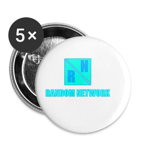 RandomNetwork accessoires - Buttons klein 25 mm (5-pack)