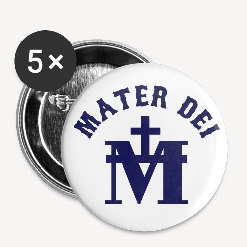 MATER DEI - Buttons small 1''/25 mm (5-pack)