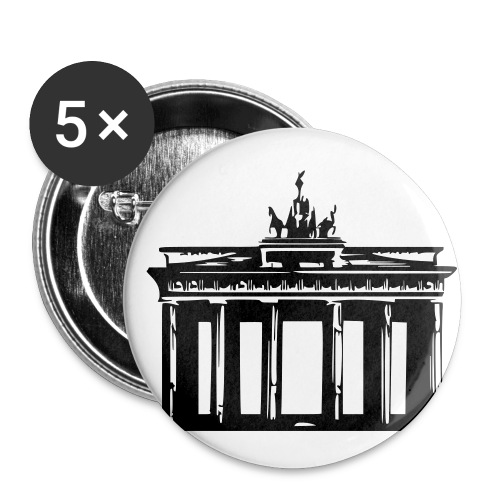 Brandenburger Tor - Buttons klein 25 mm (5er Pack)