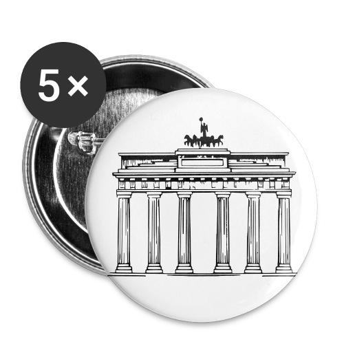 Brandenburger Tor Berlin Victoria Streitwagen - Buttons klein 25 mm (5er Pack)